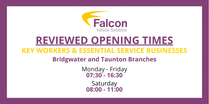 Reviewed Opening Times
