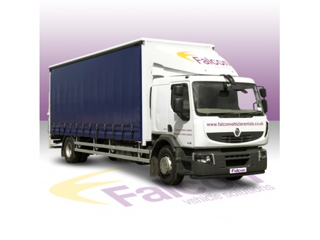 18 Tonne MAN Curtainside Lorry