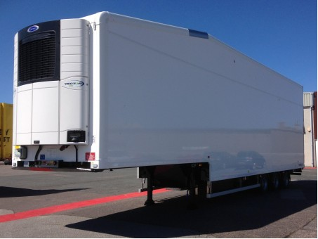 Double Deck Fridge Trailer