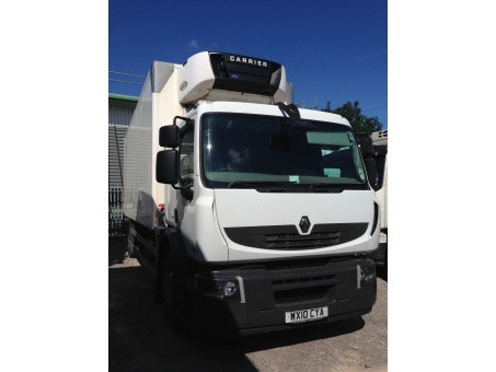 18 Tonne Renault Premium Fridge for sale