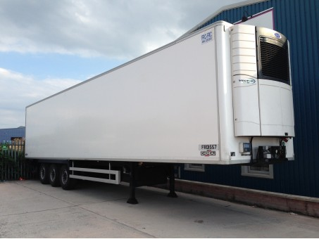 Tri Axle single & dual temp Fridge Trailer