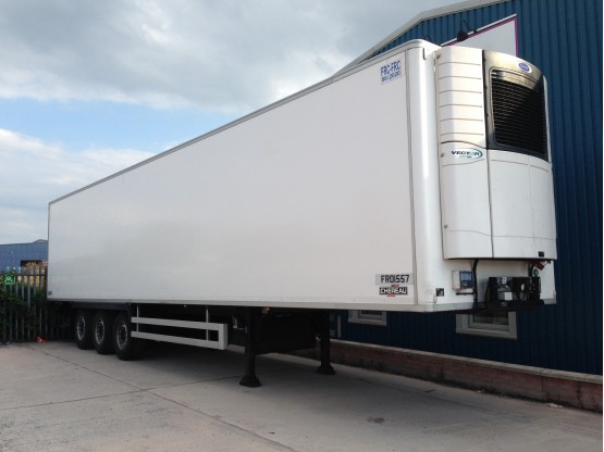 Chereau Tri Axle Fridge Trailer Trailers