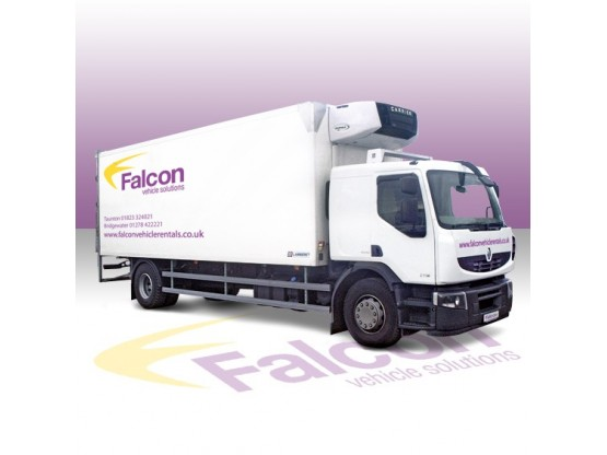 14/15/18 Tonne Fridge Lorry Refrigerated Vehicle Hire
