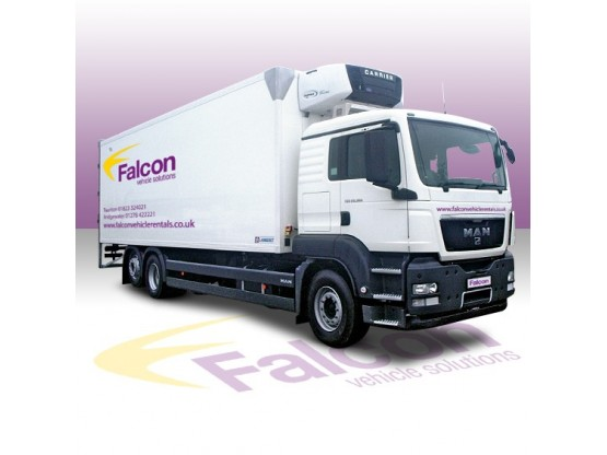26 Tonne Fridge Refrigerated Vehicle Hire