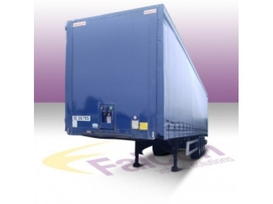 Curtainside Trailer HGV Hire