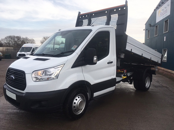 3.5 Tonne Tipper and Crewcab Van Hire