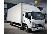 (1) Isuzu N75.190 Euro 6 Box Tail Lift 7.5T - 44T