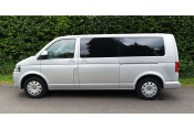 (2) 2015 Plate - Volkswagen Transporter Shuttle T30 LWB MPV in Silver - 77,000 Miles Cars