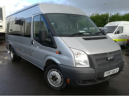 Ford Transit 2.4 TDCi 430 Trend Bus Silver, 70,500 miles