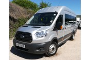Ford Transit 460 L4H3 bus in Silver, 49,300 miles Vehicle Sales