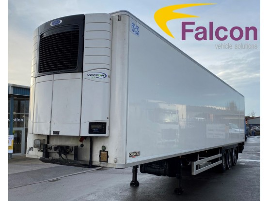 (1) Chereau Fridge Trailers - Carrier Fridge Systems - 2013, 2014 & 2015 - With or Without Tail-Lifts Trailers