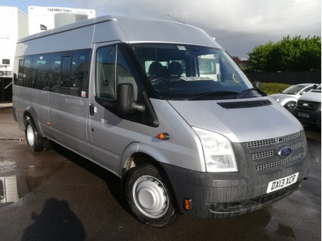 Ford Transit 2.2 135 T430 Bus in Silver, 103,400 miles