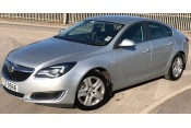 (1) 2017 Vauxhall Insignia 1.6 CDTI 5 door Saloon in Silver, 15,000 miles Cars