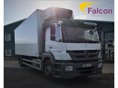 (1) (CFU) Mercedes-Benz Axor R 1824L 18 Tonne Fridge Sleeper Cab with Tail Lift