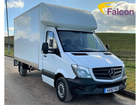 (1) (FHO) 2016 (16) Mercedes-Benz Luton 313 Box Van with Tail-Lift