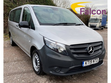 (1) (NTD) 2019 (19) Mercedes-Benz Vito 114 CDi Tourer 9 Seater Pro X Long