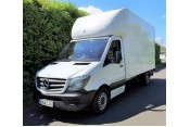 (1) 14 plate Mercedes 313, 3.5T, Luton van with tail-lift in White - 157,000 miles Vans
