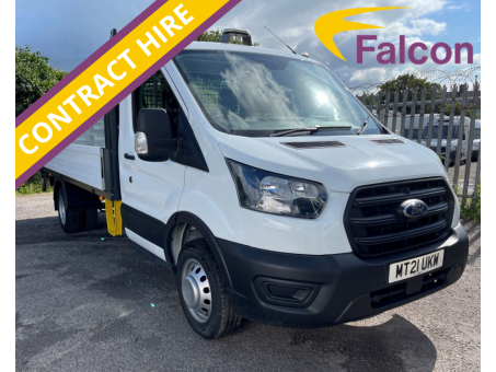 (CONTRACT HIRE) Ford Transit 350L 2.0 130ps Dropside with Column Tail Lift