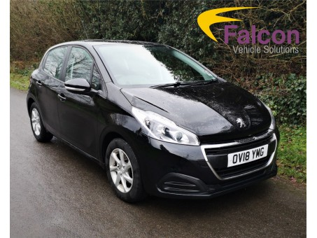 (1) (YMG) Black Peugeot 208 1.2 Pure Tech 82 Active