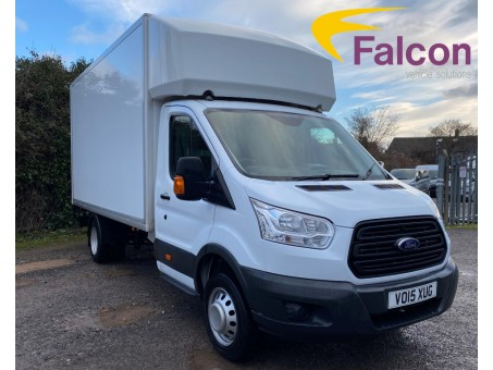 (1) (XUG) 2015 (15 plate) Ford Transit 350EF 3.5T Luton Box with Tail-lift