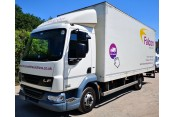 DAF LF 45.160 7.5T box tail lift in White, 142,900 miles  Vehicle Sales
