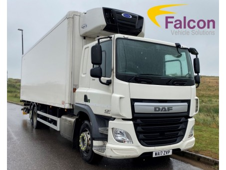 (1) (ZVP) DAF CF 75.330 26T Fridge with Tail-lift