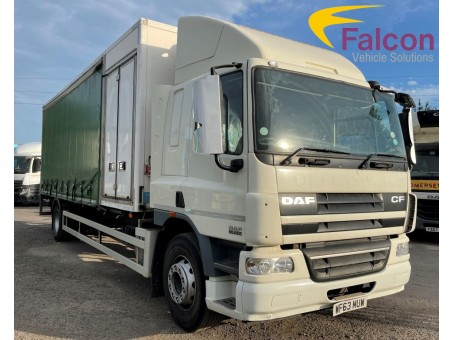 (1) (MUW) DAF FA CF65.250 18T Fridge with Tail-lift