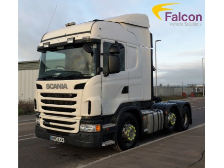 (1) (LKM) Scania G445LA Sleeper Tractor Unit