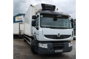(1) 2012 plate Renault Premium 270.18, 18T fridge with a tail-lift - 592,000km Refrigerated Vehicles