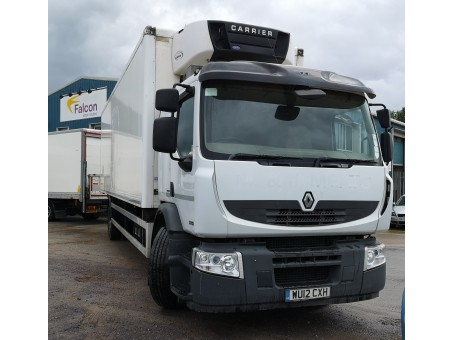 (1) Renault Premium 270.18, 18T Fridge