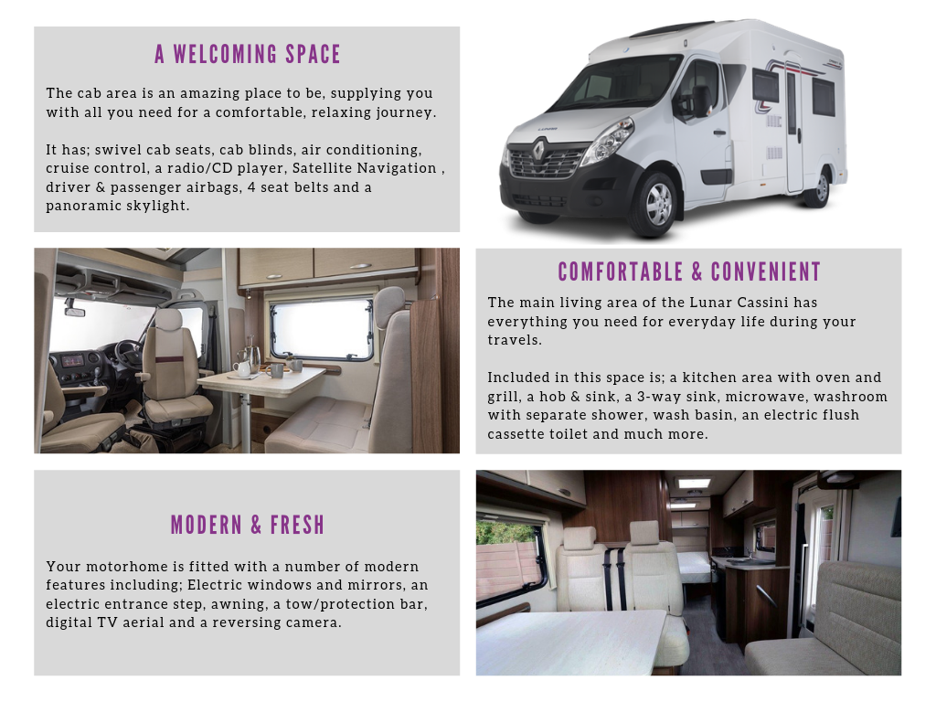 Motorhome Hire | Bridgwater & Taunton Somerset | Falcon Vehicle Hire