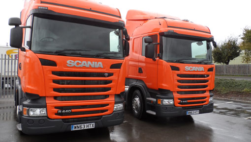 Scania Lorry Contract Hire